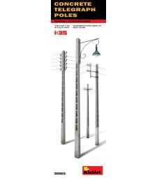 1:35 Concrete Telegraph Poles
