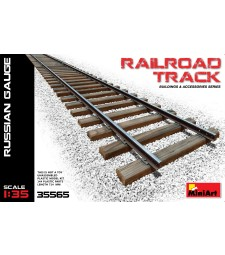 1:35 Railroad Track (Russian Gauge)