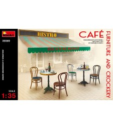 1:35 Cafe Furniture & Crockery