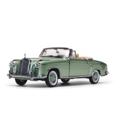 1958 Mercedes-Benz 220 SE Open Convertible - Light Green