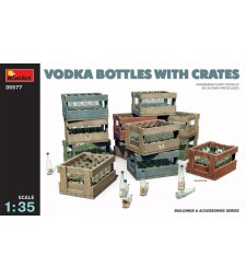 1:35 Vodka Bottles with Crates