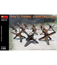 1:35 Anti-tank Obstacles - 12 pieces