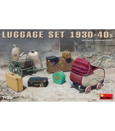1:35 Luggage Set 1930-40s