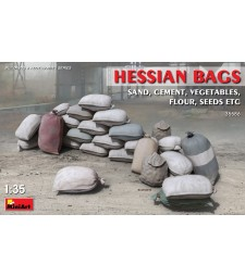 1:35 Hessian Bags(sand, cement,vegetables, flour etc)