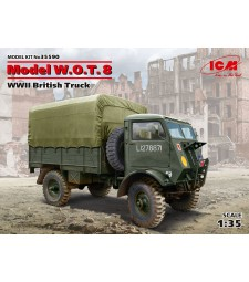 1:35 Model W.O.T. 8, WWII British Truck