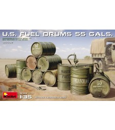 1:35 U.S. Fuel Drums (55 Gals.)