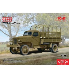 1:35 G7107, WWII Army Truck (100% new molds)