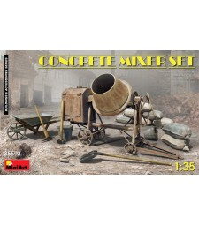 1:35 Concrete Mixer Set