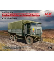 1:35 Leyland Retriever General Service, WWII British Truck (100% new molds)