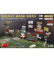 1:35 German Road Signs WW2 (Eastern Front Set 1)