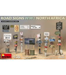1:35 Road Signs WW2 (N.Africa)