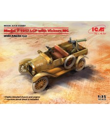 1:35 Model T 1917 LCP with Vickers MG, WWI ANZAC Car
