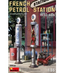 1:35 French Petrol Station 1930-40S