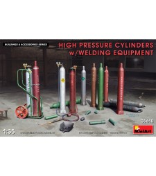 1:35 High Pressure Cylinders w/Welding Equipment
