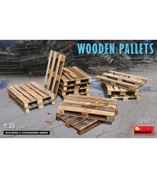 1:35 Wooden Pallets