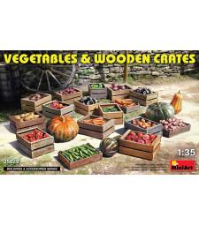 1:35 Vegetables & Wooden Crates