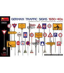 1:35 German Traffic Signs 1930-40's