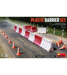 1:35 Plastic Barrier Set