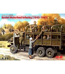 1:35 Soviet Motorized Infantry (1943-1945), (5 figures)