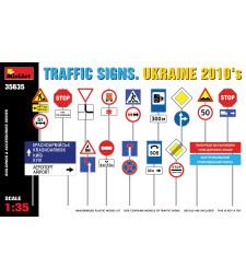 1:35 TRAFFIC SIGNS. UKRAINE 2010's