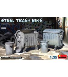 1:35 Steel Trash Bins
