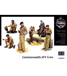 1:35 Commonwealth AFV Crew - 6 figures