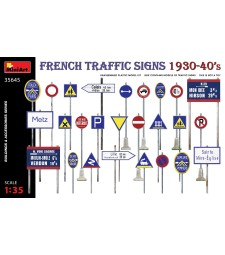 1:35 French Traffic Signs 1930-40's