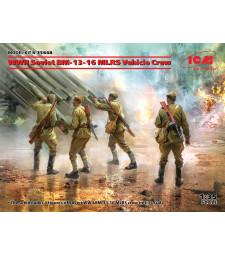 1:35 WWII Soviet BM-13-16 MLRS Vehicle Crew