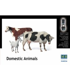 1:35 Domestic Animals -3 figures