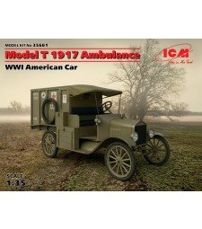 1:35 Model T 1917 Ambulance. WWI American Car (100% new molds)