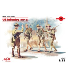 1:35 US Infantry (1917) (4 figures)