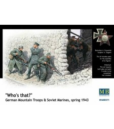 1:35 Who's that?, German Mountain Troops & Soviet Marines, spring 1943 - 6 figures