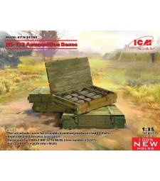 1:35 RS-132 Ammunition Boxes (100% new molds)