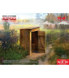 1:35 WC (Field Toilet) (100% new molds)
