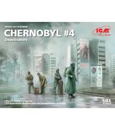 1:35 Chernobyl#4. Deactivators (4 figures)