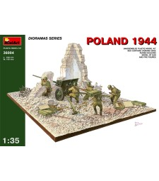 1:35 Poland 1944 Soviet Artillery - 5 figures