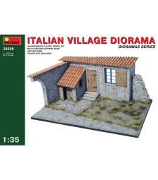 1:35 Italian Village Diorama