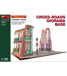 1:35 Cross-roads Diorama Base