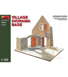1:35 Village Diorama Base