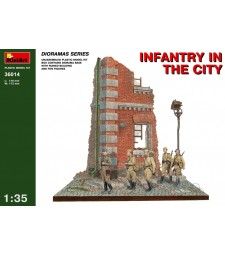 1:35 Infantry in the City - 5 figures