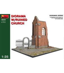 1:35 Diorama w/Ruined Church