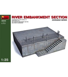 1:35 River Embankment Section