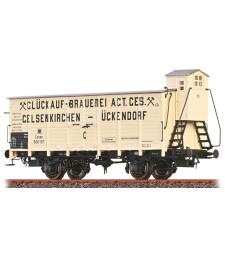 H0 Freight Car G10 KPEV, I, Gluckauf Brau