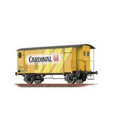 H0 Freight Car K2 Gklm SBB, IV, Cardinal