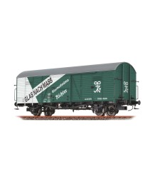 """H0 Covered freight car """"Glaswerke"""" of the ÖBB, epoch III"""