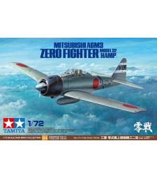 1:72 Mitsubishi A6M3 Zero Fighter Model 32 (Hamp)