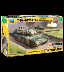 1:35 T-14 Armata Russian Main Battle Tank