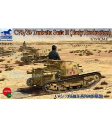 1:35 CV3/33 Tankette Serie II (Early Production)