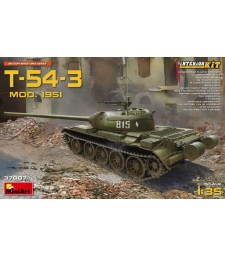 1:35 T-54-3 Model 1951 Interior Kit