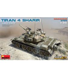 1:35 Tiran 4 Sharir Late Type. Interior Kit